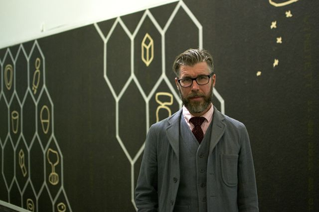 Jan Ryden, Allborgarrätten, Installation and talk, Göteborgs konsthall
