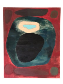 Fullmåne, 80x100cm, oil on linen canvas (2014)